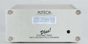 M2Tech EVO DAC Two  Plus - 32bit 384khz DSD I2S pilot