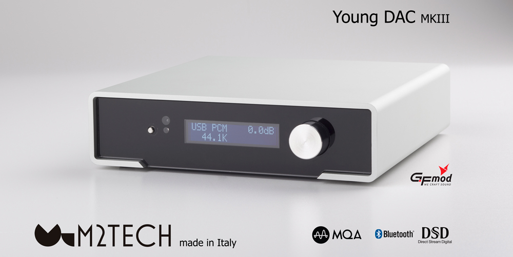 Włoski DAC USB M2Tech Young MKIII